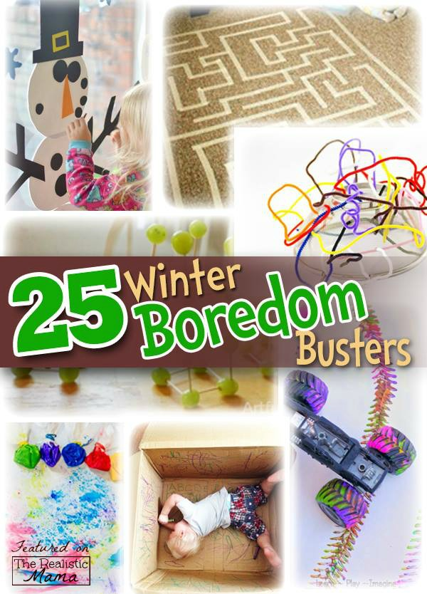 25 indoor winter activities for kids