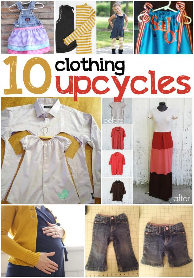 10 Brilliant Upcycled Clothing Ideas