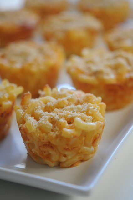 Mini Muffin Mac n Cheese
