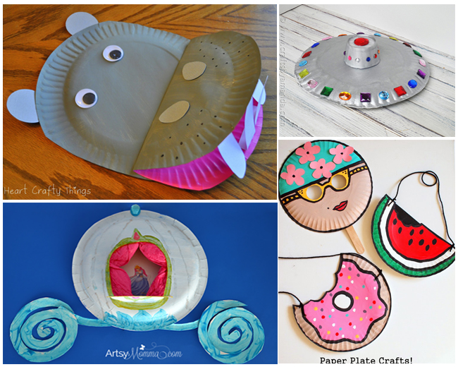 12 Incredibly Cute Paper Plate Crafts  sc 1 st  The Realistic Mama & 12 Incredibly Cute Paper Plate Crafts - The Realistic Mama