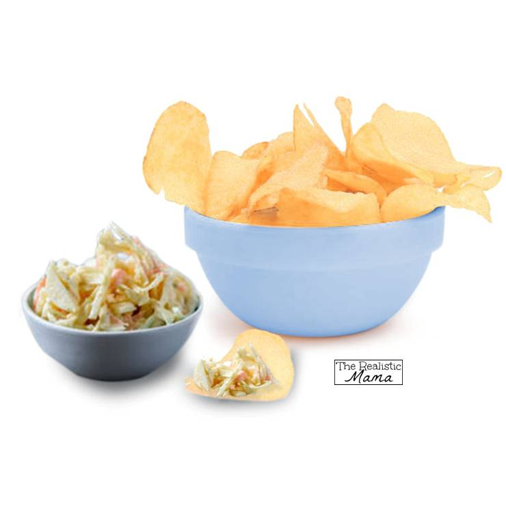 Chips and Coleslaw