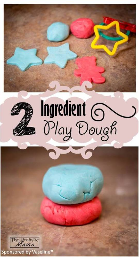 Easy Play Dough Receipe