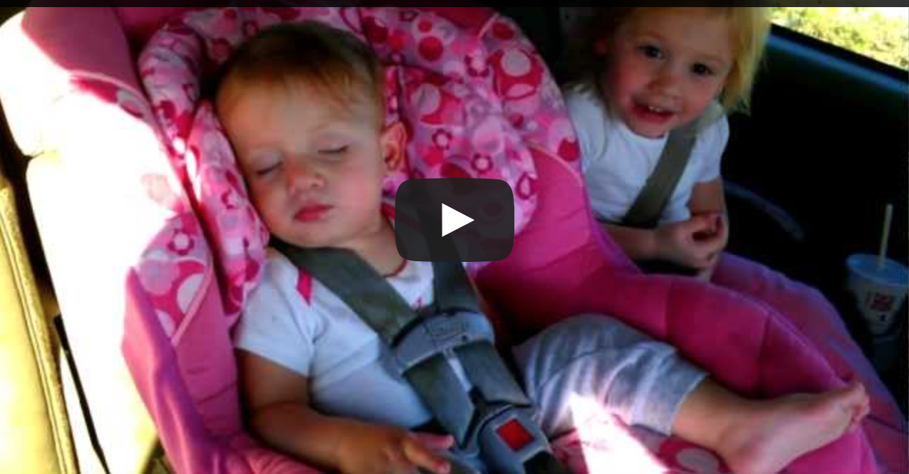 Funny video! Mom turns on radio while baby is sleeping... you have to watch what happens next!