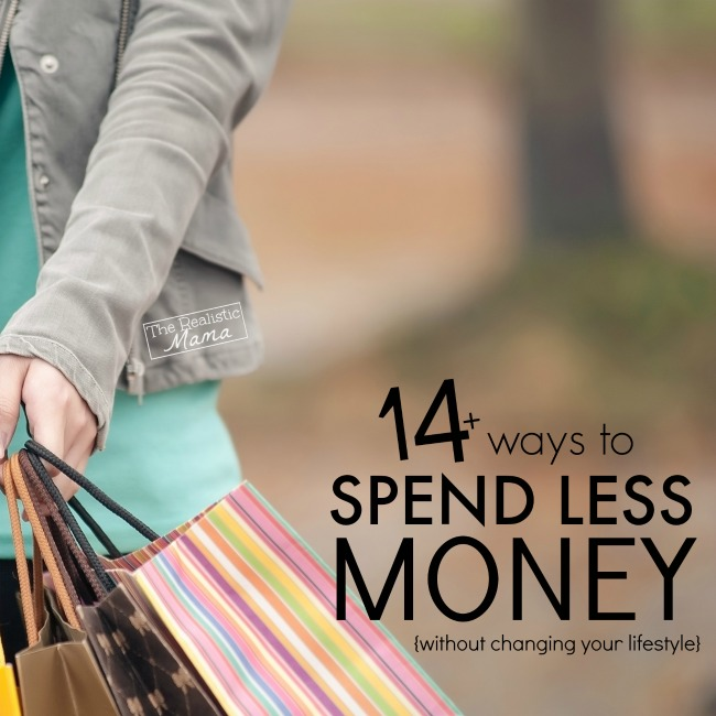14 ways to spend less money