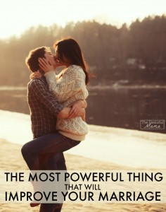 The most powerful thing that will improve your marriage