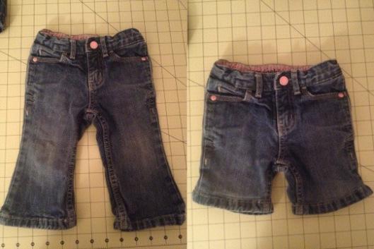 pants to shorts