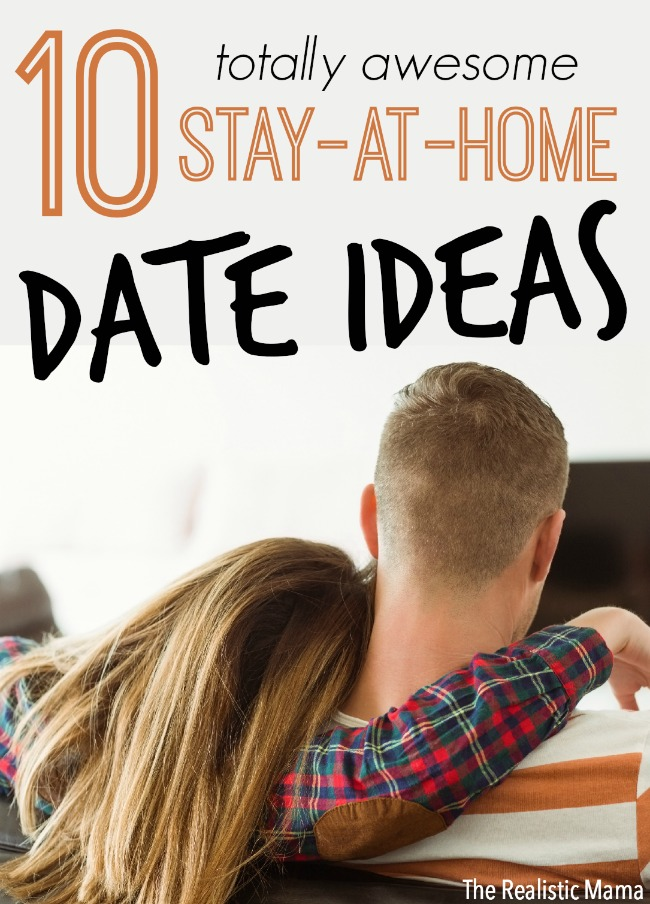 10 at home date night ideas the realistic mama