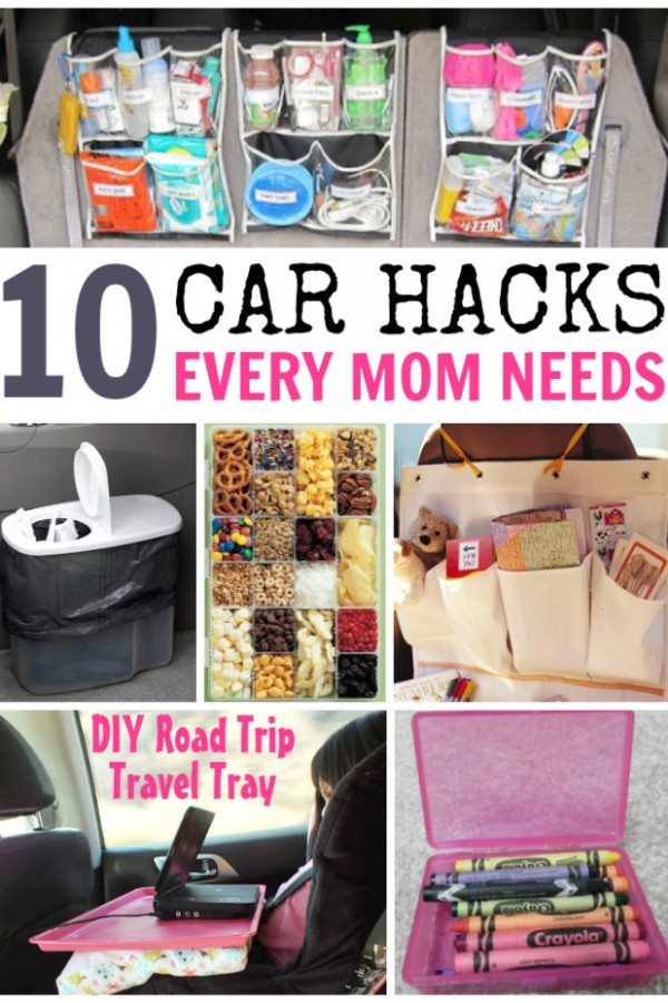 10 car hacks every mom needs