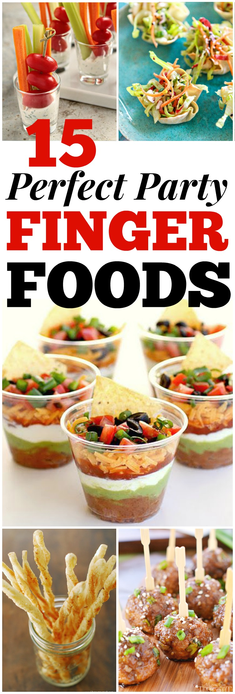 15 Perfect Party Finger Foods