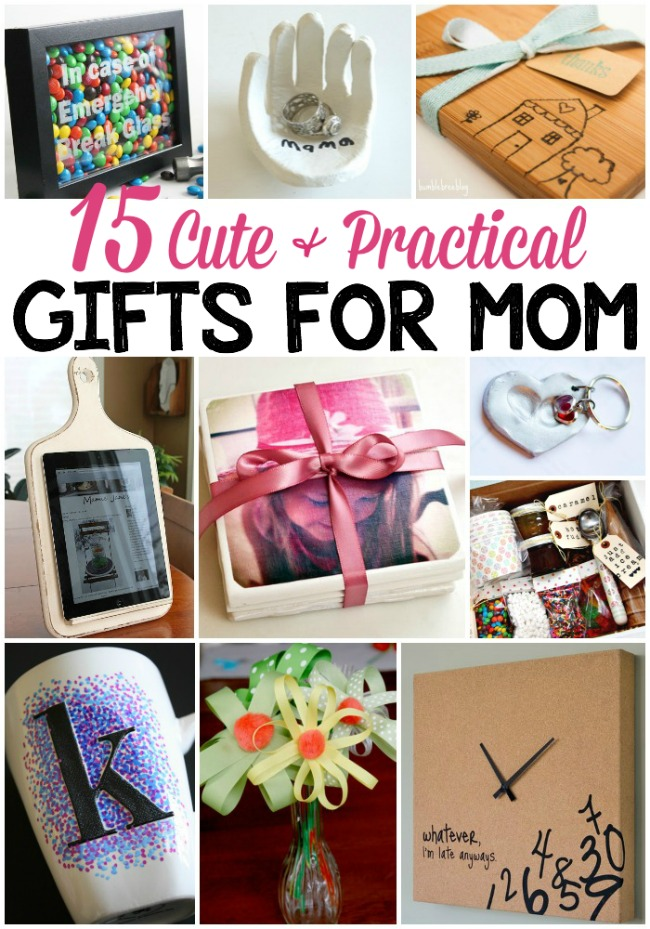 15 cute practical diy gifts for mom the realistic mama