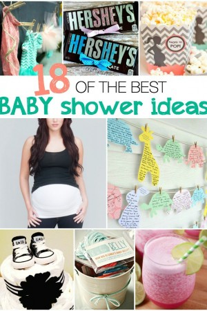 18 of the best baby shower ideas