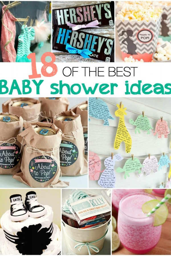 18 of the best baby shower ideas!