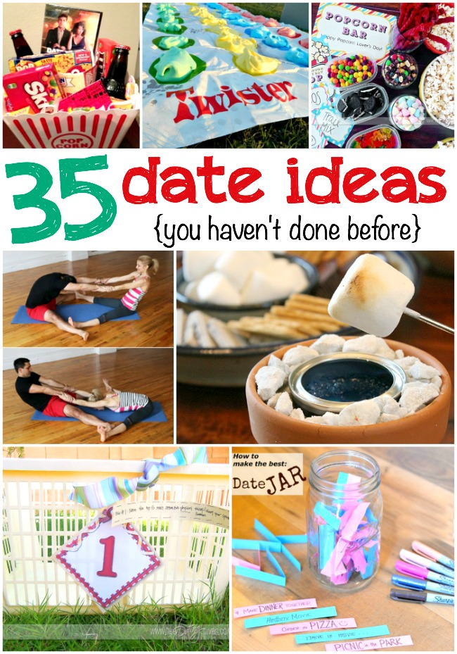 Fun dating ideas at home