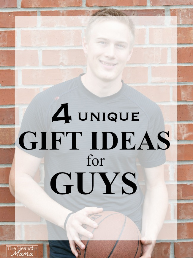 4 unique gift ideas for your man