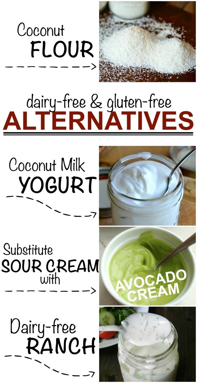 Dairy free & gluten free alternatives
