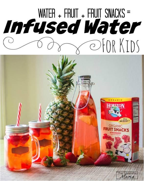 kid Friendly Infused Water