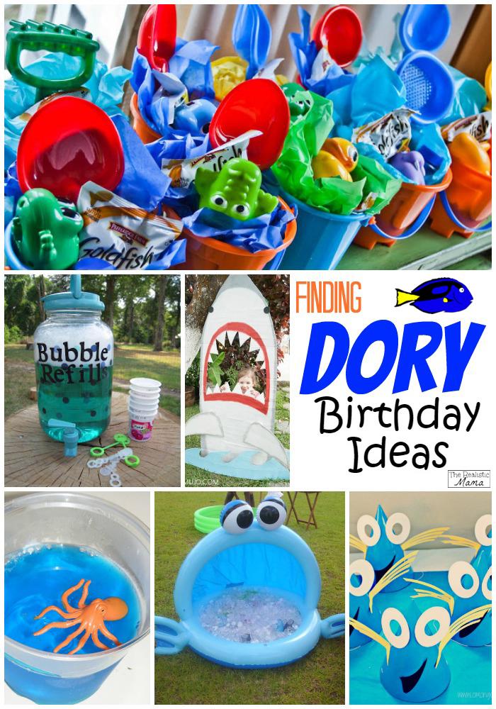 Finding Nemo Dory Inspired Birthday Ideas