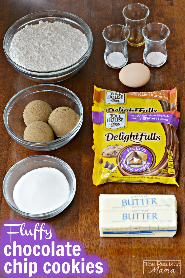 Fluffy Chocolate Chip Cookie Recipe