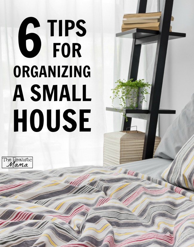 10 Hacks for Small Spaces - The Realistic Mama