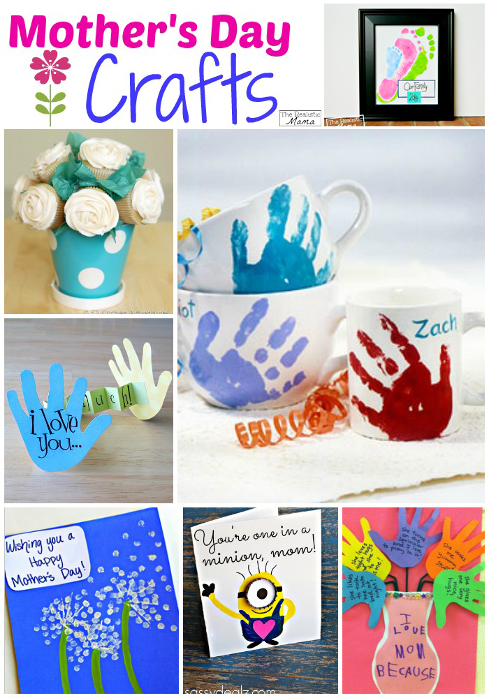 Mother 39 S Day Crafts For Kids The Realistic Mama