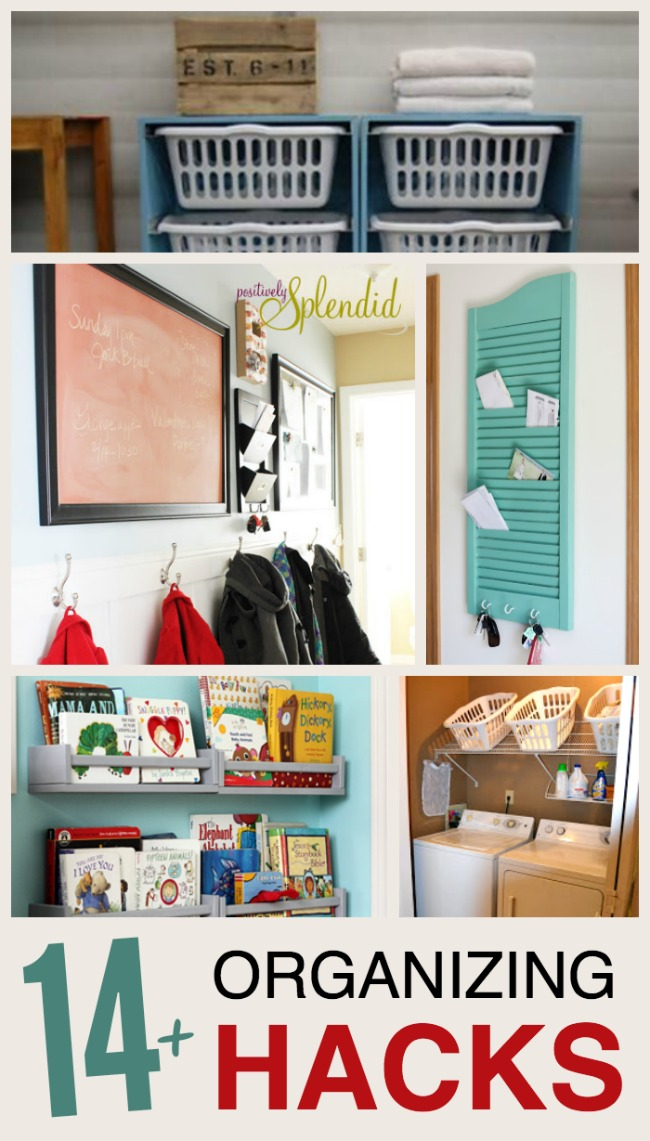 14 home organizing ideas the realistic mama - Home organizing tips ...