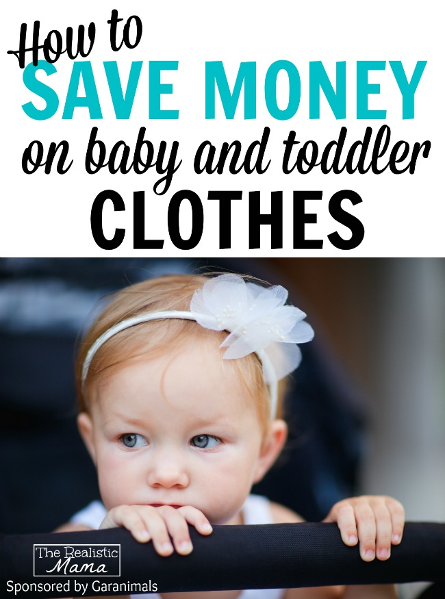 4 Tips to Saving Money on Baby & Toddler Clothes