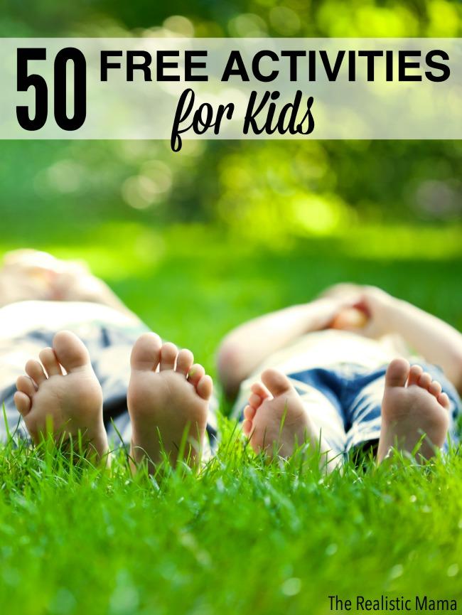 50 Free Activities for Kids.