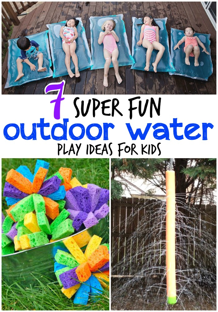 7 totally awesome outdoor water play ideas for kids