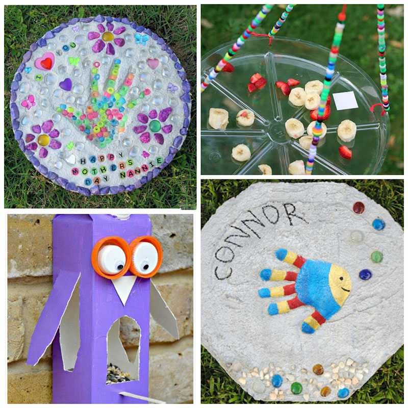 12 Super Cute Garden Crafts For Kids - The Realistic Mama