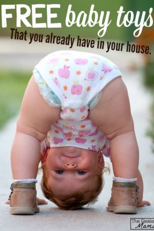 Free baby toys that you already have in your house!