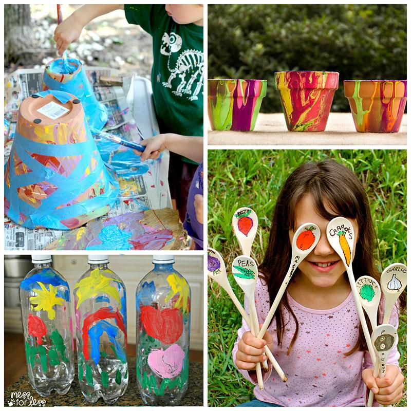 garden crafts. Garden Crafts For Kids