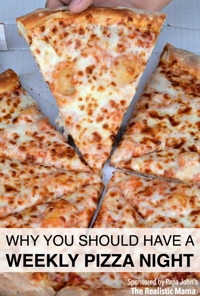 Here's why we love our weekly pizza night