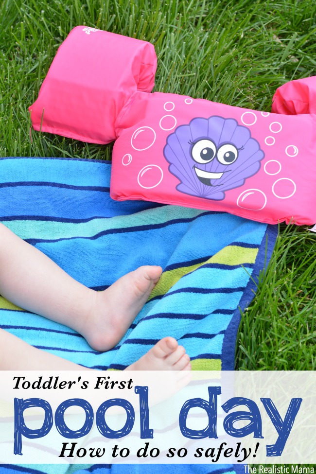 How to head to the pool safely with your toddler