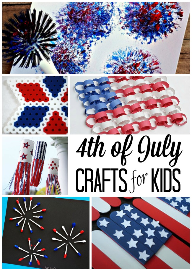 4th Of July Crafts For Kids The Realistic Mama