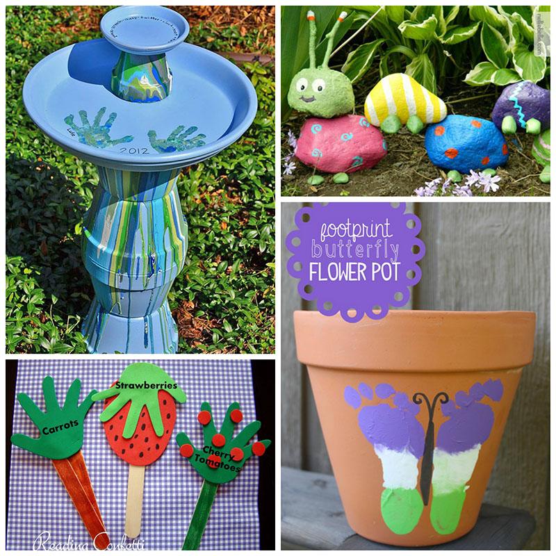 Wonderful Gardening Craft Ideas Part - 9: 12 Super Cute Garden Crafts For Kids The Reaic Mama
