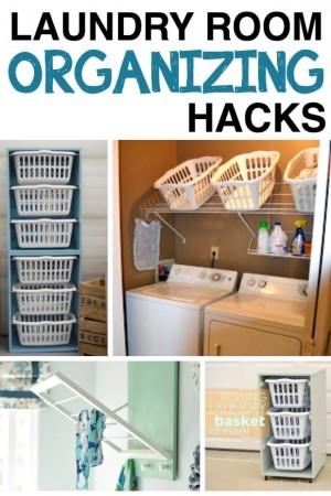 Laundry Room Organizing Hacks