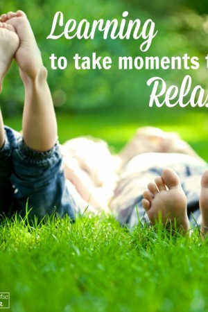 Learning to take moments to relax