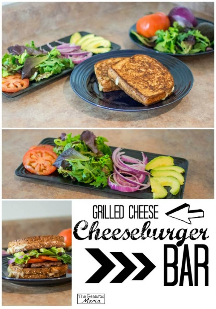 Grilled Cheese Burger Bar