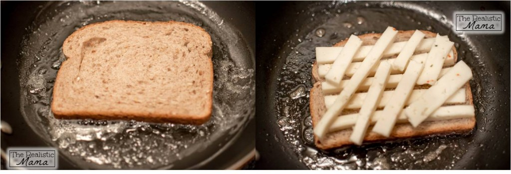 Grilled Cheese cooking