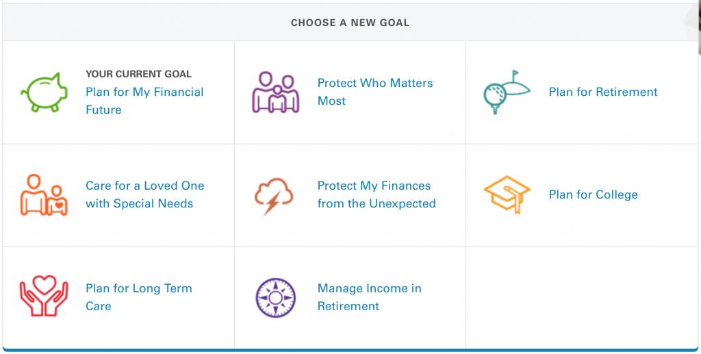 Make a financial goal