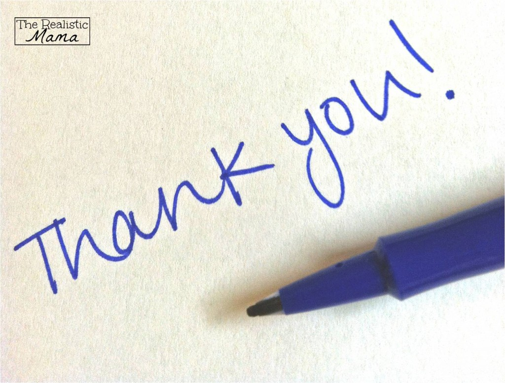 Personalized Thank you notes to customers