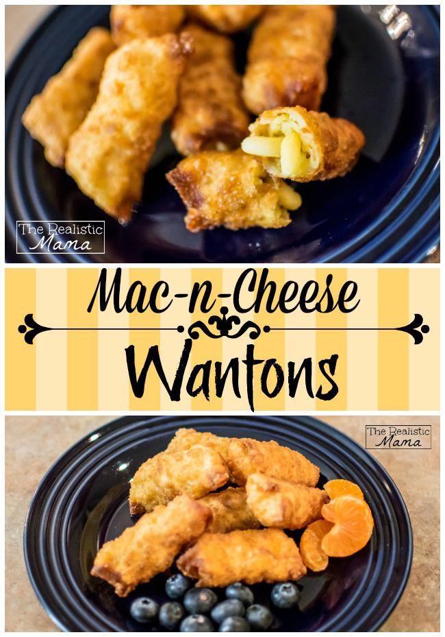 Mac n Cheese Wantons