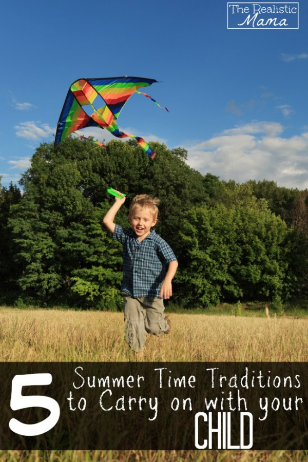 Teaching your child to fly a Kite