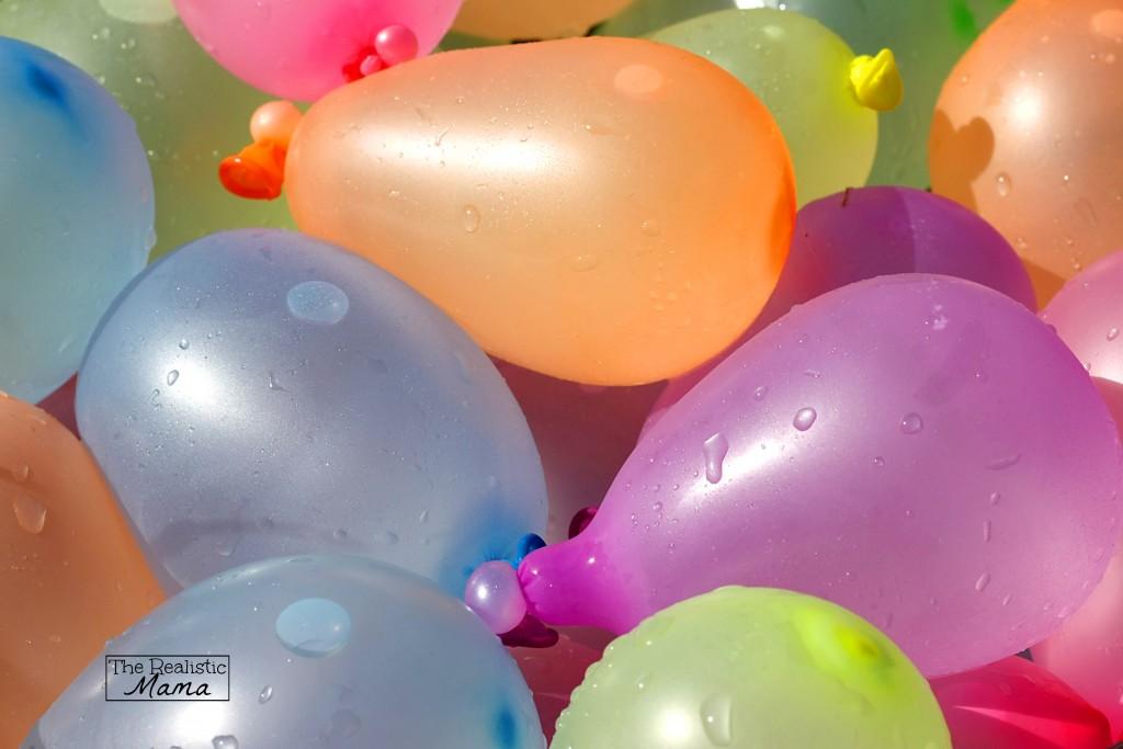 Surprise Water Balloon Fight