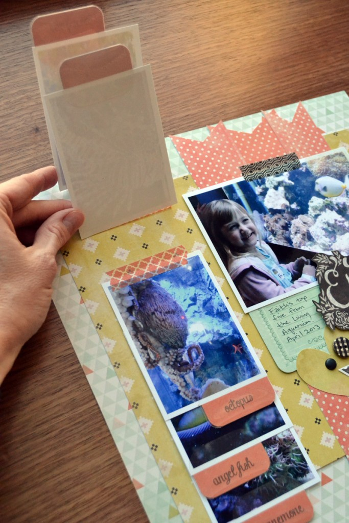 Flippable Tabs For Your Scrapbook