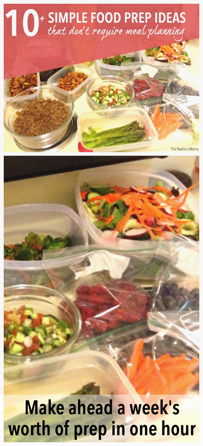 10+ Simple Food Prep Ideas to Make in an Hour