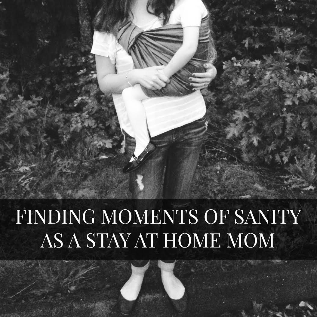 Finding moments of sanity as a SAHM