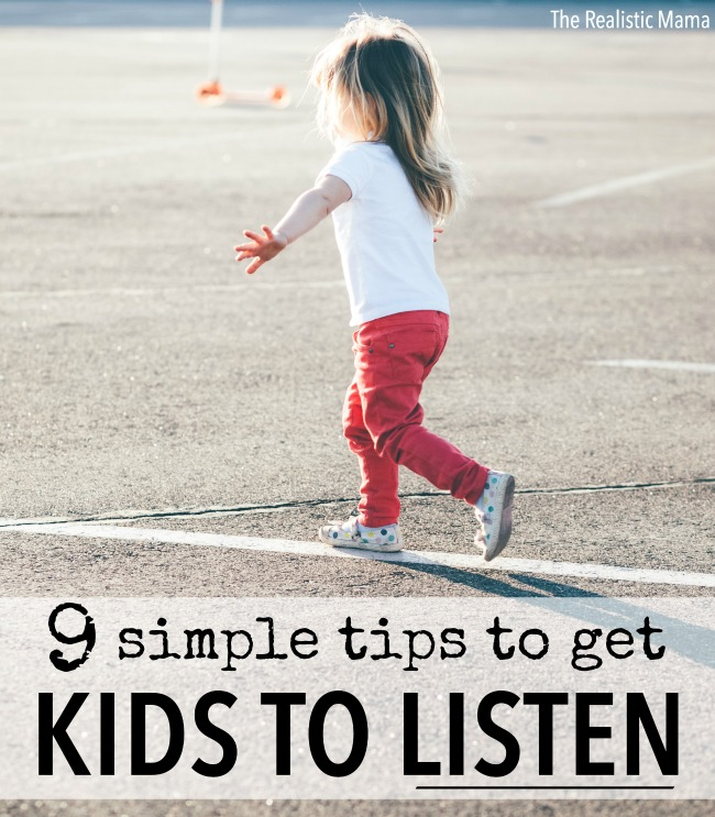 Getting Kids to Listen