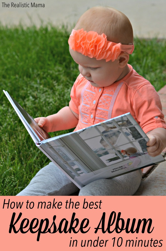 How to make the best keepsake album for your kids in under 10 minutes
