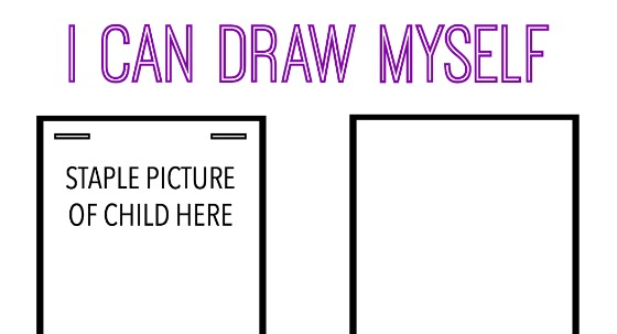 Draw & Describe Yourself Free Printable For Kids - The Realistic Mama